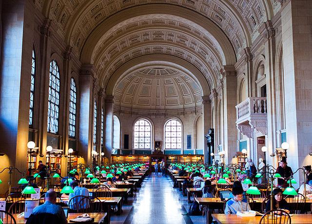 Abbey Room Boston Public Library