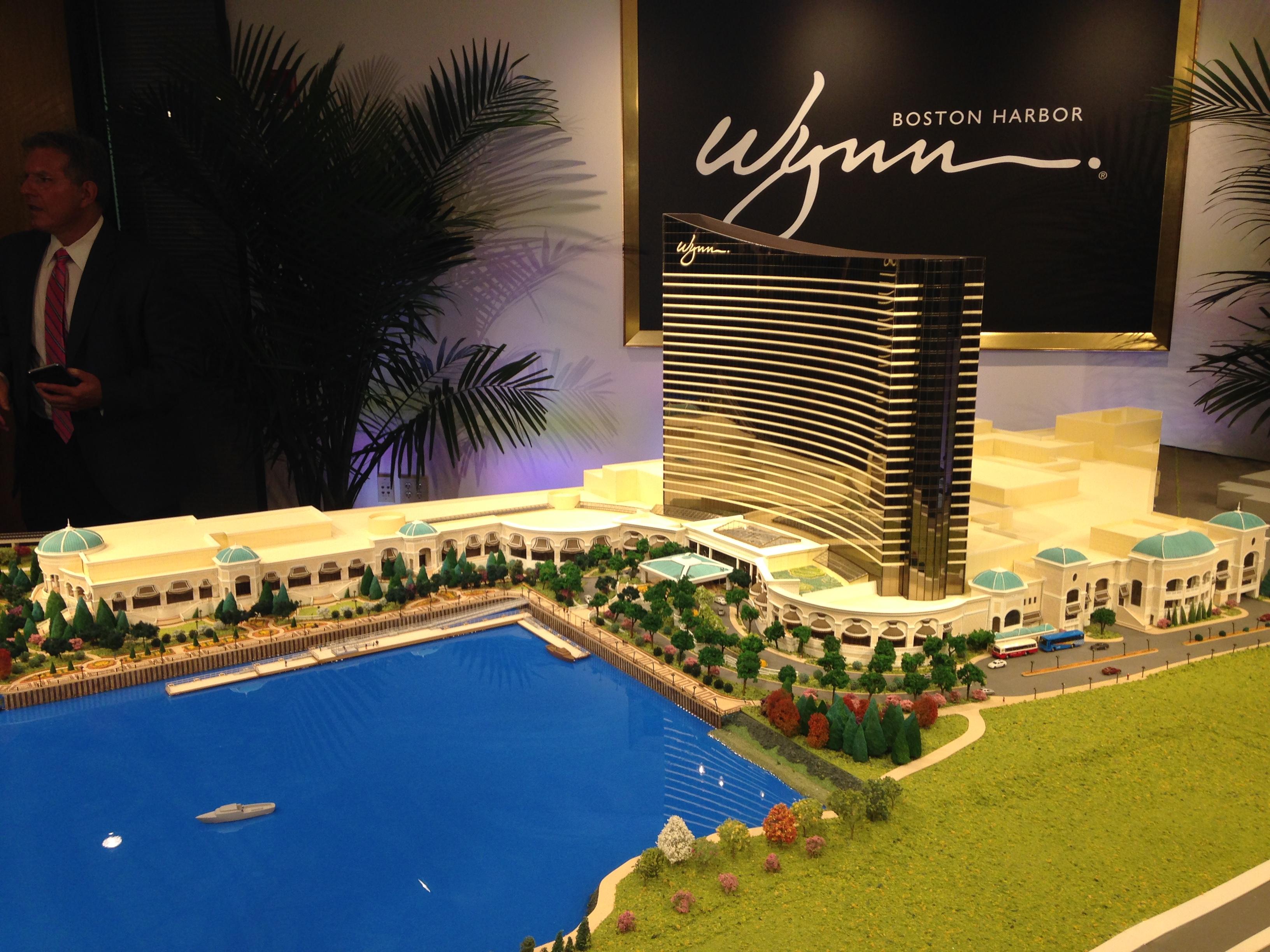 Wynn casino everett architect