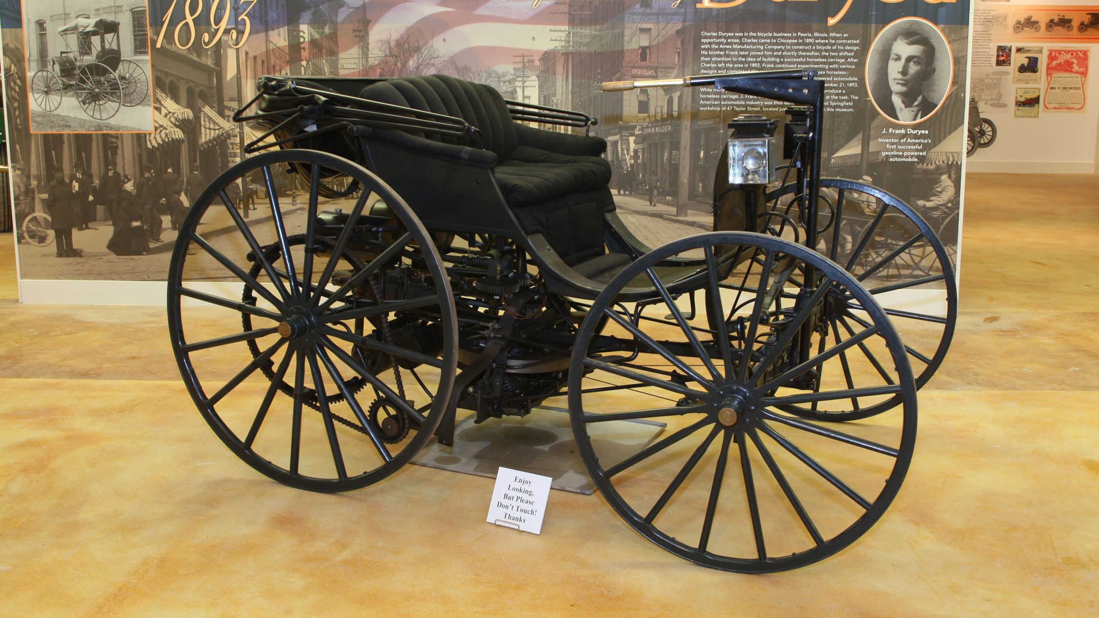 The Quest To Bring America\'s First Gas Powered Automobile Back To ...