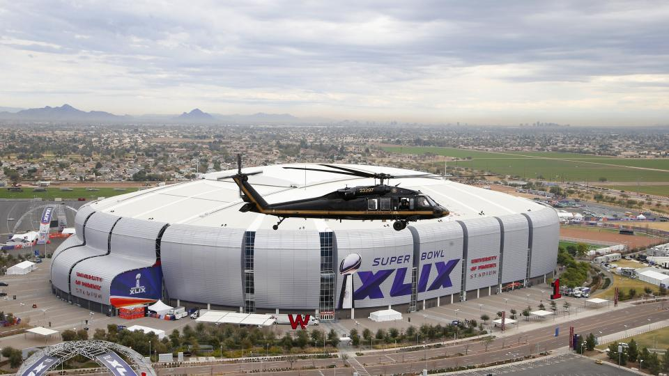 How does super bowl security work?