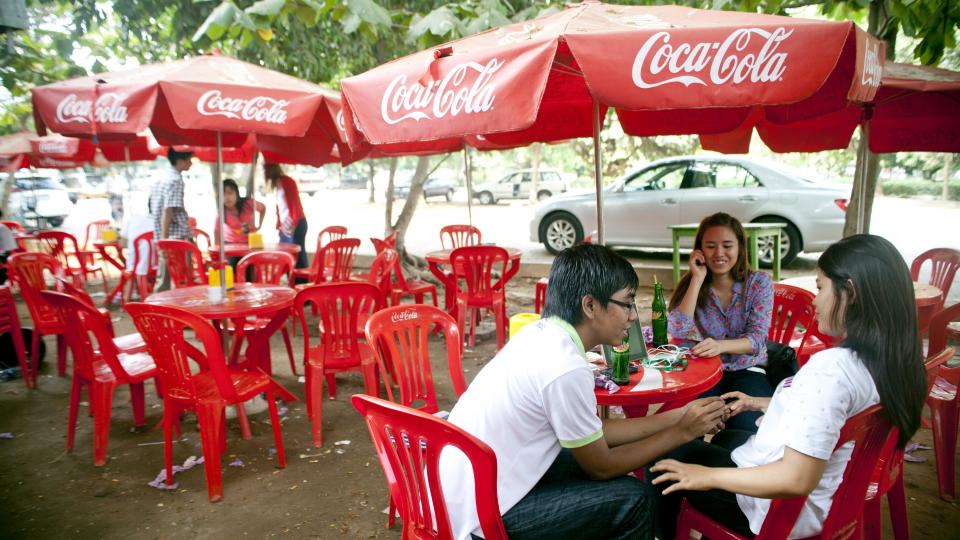 coca cola back in burma In yangon as myanmar, also known as burma, opens up to the world  we  are privileged to once again have the opportunity to play a role in.