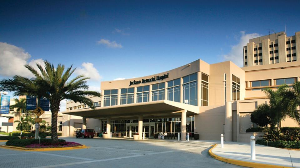 Jackson Memorial Hospital Rooms