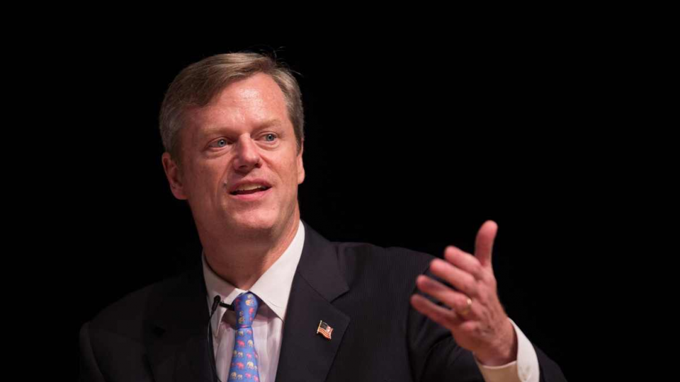 No religious tests for U.S. refugee system, says Gov. Baker.