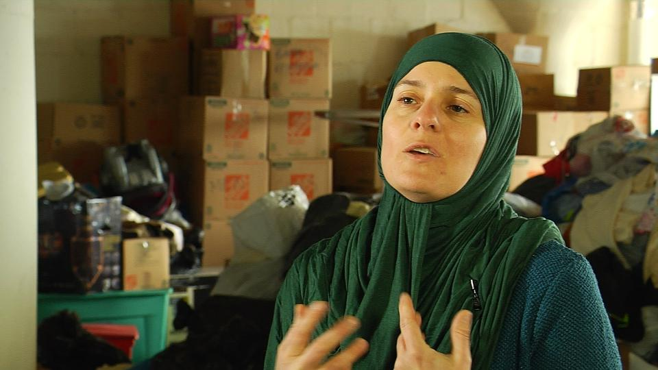 Nadia Alawa, the founder of NuDay Syria, says Trump's travel ban undercuts efforts to send a message of hope to Syrian refugees.