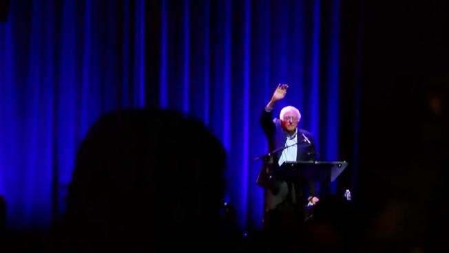 Bernie Sanders at Berklee Performance Center