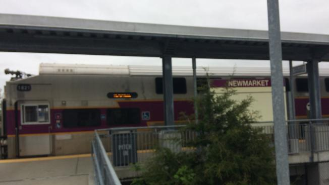 The Fairmount Line's New Market Square station by the South Bay Mall.