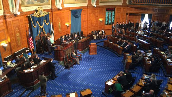 The House of Representatives earlier this year.
