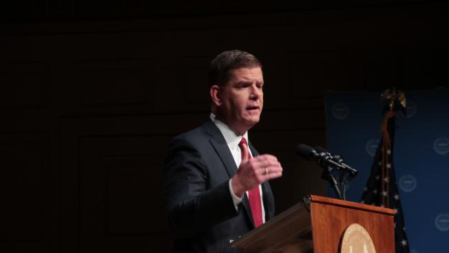 Boston Mayor Marty Walsh gave his third State of the City speech Tuesday.