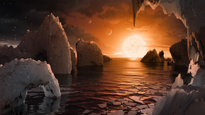 Scientists find exoplanets.