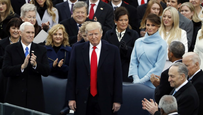 Anti-Trump Conservatives Come To Terms With The 'American Carnage' Inaugural.
