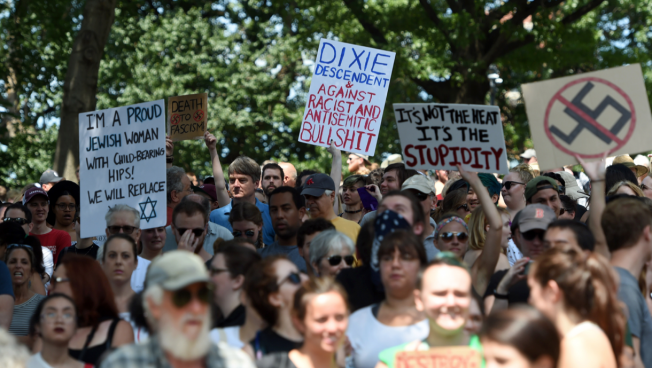 The Real Target Of Boston's Counter-Protest Was Trump