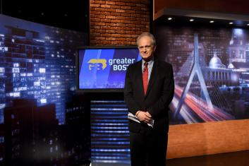 Jim Braude on the Greater Boston set.