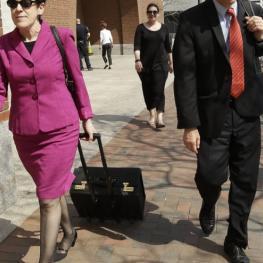 Public Defender, Miriam Conrad on the move.