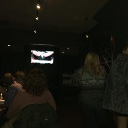 Around 35 people watched President Barack Obama's farewell speech at Tavern in the Square in Cambridge Tuesday night.