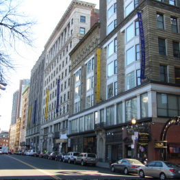 7 injured near Emerson College in a fight that involved bottles and knives.