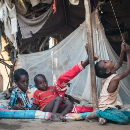Host to more than a third of a million people, Dadaab is the world's largest refugee camp. Sixty percent of the refugees there are children. (Nichole Sobecki/GroundTruth)