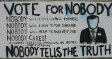 Vote for Nobody Sign