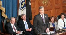 Gov. Charlie Baker delivers his first State of the Commonwealth address.
