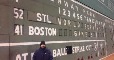 Christian Elias, Green Monster Scoreboard Operator is retiring after 26 years
