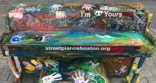 Piano on Boylston Street