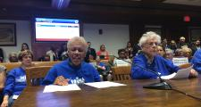Edna Pruce testified before lawmakers Tuesday.