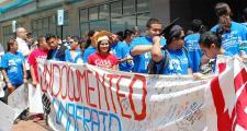 Dreamers demonstrating