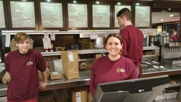 Waitress and Counter Server, Chelsea Tebow at the Puritan.jpg