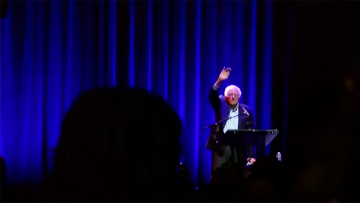 Bernie Sanders at Berklee Performance Center