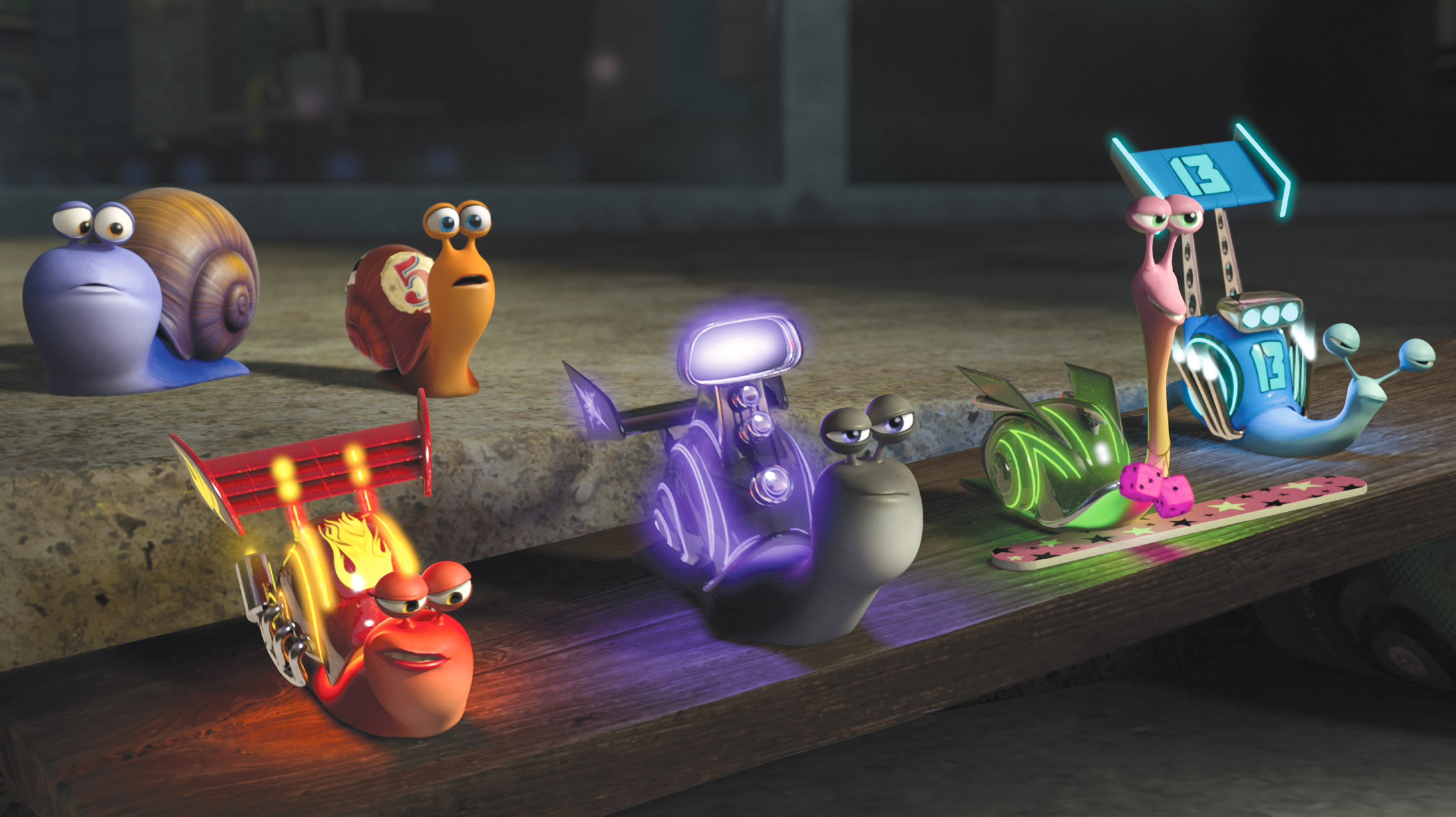 do racing snails drive racial stereotypes in 'turbo'?