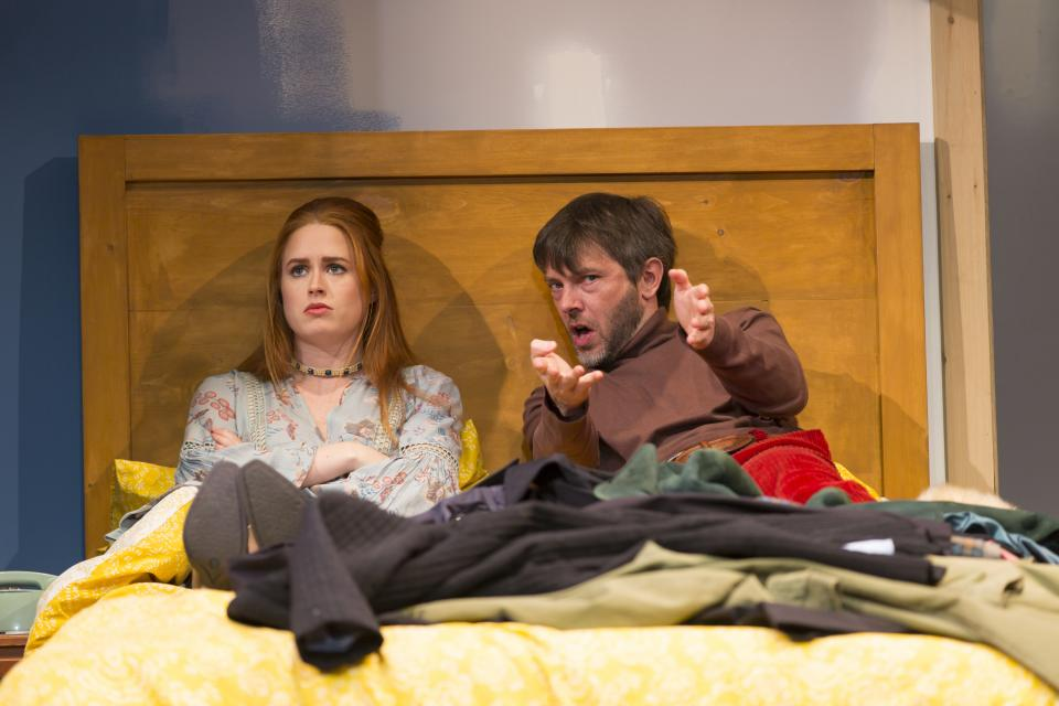 bedroom farce. Katie Paxton and Karl Miller in the Huntington Theatre Company s production  of Bedroom Farce This Week Emerson Urban Arts Rules Don t Apply