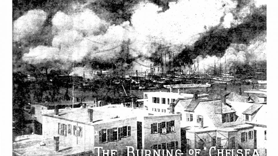 Image result for Great Boston fire 1908