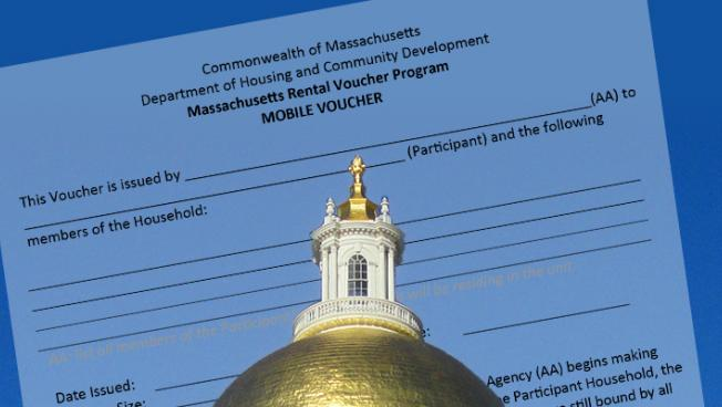 Massachusetts State House and Mobile Voucher