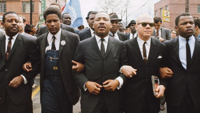 Image result for dr martin luther king jr begins his march from selma to montgomery, alb