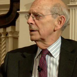 Supreme Court Justice Stephen Breyer talks with David Gergen and says SCOTUS is about law, not politics.