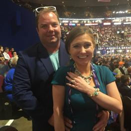 New England Delegates Get Engaged at the RNC In Cleveland