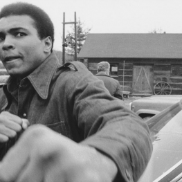 Mohammed Ali appeared on the WGBH program Say Brother in 1968