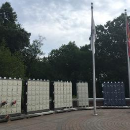 The state's Veterans Memorial Cemetery in Agawam is storing ashes in temporary locker units while an expansion project drags on.