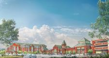 An artist's rendering of the proposed Brockton casino