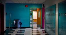 Browne Middle School Hallway