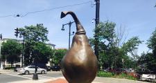 Pear Statue