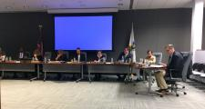 The MassDOT Board of Directors met with the MBTA's Fiscal and Management Control Board Monday.