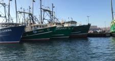 Carlos Rafael's Fleet Tied Up in New Bedford