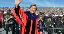 """Trump And Warren On Commencement Circuit Offer Similar Advice To Different Crowds: """"Beware The Other"""""""
