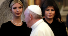 Good Grief: Melania, Ivanka, And Pope Francis